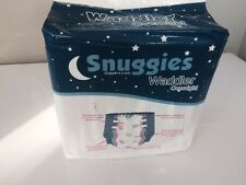 1 Pack of Snuggies Waddler Overnight  Adult Baby Nappy. ABDL. Medium. Baby Print