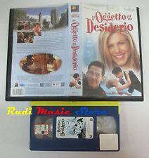 film VHS L'OGGETTO DEL MIO DESIDERIO Jennifer Aniston 1999   (F13) no dvd