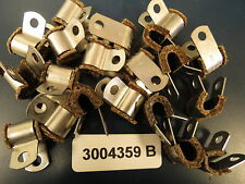 "Stainless Hi-Temp Loop 3004359B Clamps for 3/16"" to 1/4"" or 5/15"" /Lines (20)"