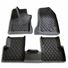 2015 2016 2017 Jeep Renegade  All Weather Slush Mats Set of 3 Black  82214194AB