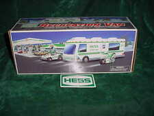 XMAS 1998 HESS TOY RECREATION VAN W/ DUNE BUGGY AND MOTORCYCLE TRUCK TOYS TRUCK