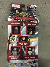 SDCC 2015 Exclusive Marvel Avengers Age of Ultron Civil War Minimates Set of 5