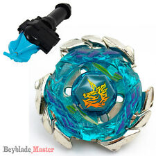 Fusion METAL Beyblade Masters BB117 Blitz Unicorno / Striker+BLUE LAUNCHER+GRIP