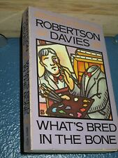 What's Bred in the Bone by Robertson Davies *FREE SHIPPING*  0140097112