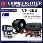 CRIMEFIGHTER CF-3 LCD Remote Keyless Entry One Way Car Alarm System Remote Start