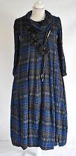 FAB GERMAN ZEDD.PLUS quirky/lagenlook CHECKED   dress XL/XXL