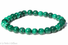 Bracelet malachite (boules 5-6mm)