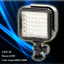 Pro CN-LUX480 48 LED Video Light Lamp for Canon EOS 7D Nikon Camera DV Camcorder