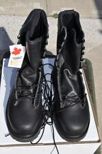 Canadian Army STEEL TOE Temperate Safety Boots Combat Boots NEW 10 R/W (270/102)