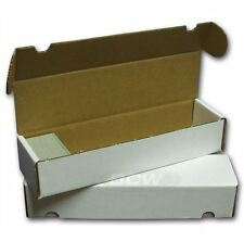 BCW 800 Count Cardboard Card Storage Box - Holds 700 Standard /1140 Gaming Cards