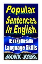 English Daily Use: Popular Sentences in English : English Language Skills by...