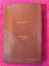 Manuel Pontiac de 1930