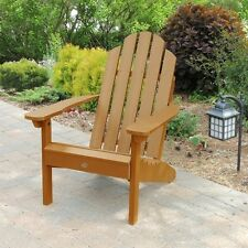 Classic Westport Adirondack Chair (Eco-friendly Synthetic wood in toffee)- NEW