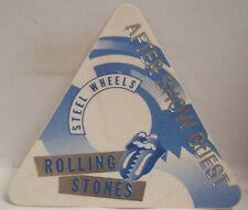 THE ROLLING STONES - ORIGINAL STEEL WHEELS CLOTH TOUR BACKSTAGE PASS