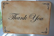 THANK YOU SIGN-Wedding-Vintage Style-Unique-Handmade for You