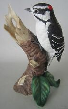 LENOX Porcelain DOWNY WOODPECKER 1989 - GARDEN BIRDS Collection Figurine