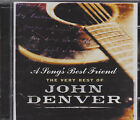 THE VERY BEST OF JOHN DENVER - A SONG'S BEST FRIEND - on 2CD's - NEW -