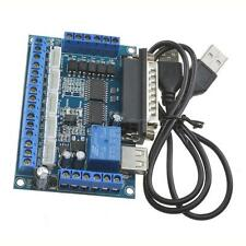 New CNC 5 Axis Interface Breakout Board For Stepper Motor Driver CNC Mill MACH3