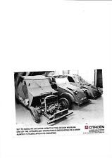 "CITROEN 70 YEAR OLD 2CV PROTOTYPE DISCOVERED IN A BARN PRESS PHOTO "" BROCHURE """