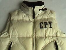 C.P. Company Body Warmer Junior Gilet Hood Piuma D'oca 8 years CP Cream Puffa
