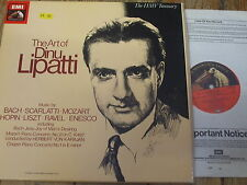 RLS 749 The Art of Dinu Lipatti 4 LP box