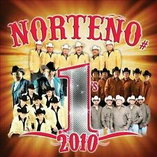 Norte€o #1's 2010 by Various Artists (CD, Nov-2010, Disa)