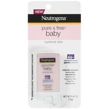 Neutrogena Pure & Free Baby Sunscreen Stick Broad Spectrum SPF 60