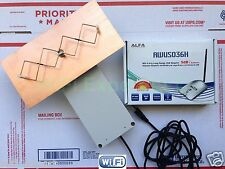 WiFi Antenna ALFA AWUS036H OUTDOOR 8M Double Biquad Long Range GET FREE INTERNET