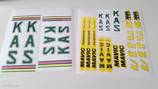KAS VITUS MAVIC decal set sticker for complete bicycle -  free shipping