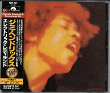 JIMI HENDRIX Electric Ladyland JAPAN Early CD W/Obi RARE 1991