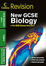 GCSE Biology AQA A  Higher.Collins.Revision Guide & Exam Practice Workbook