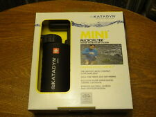 Katadyn Mini Microfilter Water Filter Brand New