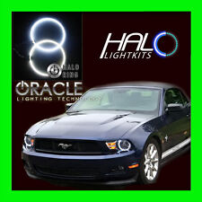 2010-2012 FORD MUSTANG WHITE LED LIGHT HEADLIGHT HALO KIT (2 RINGS) by ORACLE