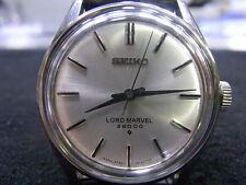 RARE Authentic Vintage SEIKO Lord Marvel  Hi-Beat 36000 BPH SS  Watch