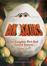DINOSAURS - COMPLETE SEASON 1 & 2 (Jim Henson) -  DVD - REGION 1 - SEALED