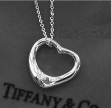 Popular Jewelry Necklace Silver Plated Heart Best Friends Heart Gifts For Women