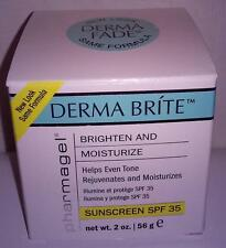 Pharmagel Derma Fade Brite Lightening & Fading Creme 2 oz  For AGE /BROWN SPOTS