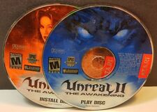 Unreal II: The Awakening (PC, 2003) DISC ONLY