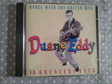 DUANE EDDY - DANCE WITH THE GUITAR MAN. 18 GREATEST HITS. CD .