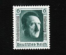 Germany Hitler Birthday SINGLE Stamp Overprinted Nuremburg 1937 Michel 650 MNH E