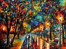 "When Dreams Come True —  Oil Painting On Canvas By Leonid Afremov - Size:40""x30"""