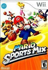 NINTENDO Wii Mario Sports Mix GAME Complete MINT Basketball/Hockey/Dodgeball U