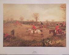 2 x Fox Hunting Prints by H Alken