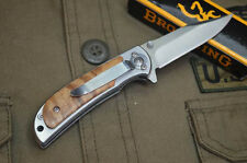 New Mini 338 Folding Knife Outdoor Blade Survival Hunting Camping Rescue Tools