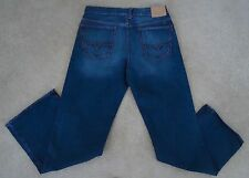 GUESS Mens Medium Wash Bootcut Jeans Sz 33x33 NWOT! Slight Flaw!