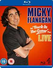 MICKY FLANAGAN BACK IN THE GAME - BLU-RAY - REGION B UK
