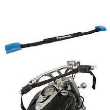 2 PIECE MOTORBIKE HANDLEBAR TIE DOWN STRAPS MOTORCYCLE TRANSPORT BAR STRAP GD24