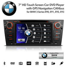 "7"" Car DVD Player GPS Radio USB SD AUX Bluetooth Estéreo Para BMW E90 E91 E92 E93"