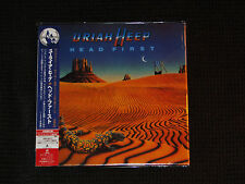 Head First by Uriah Heep 2006 BMG/Japan Mini LP CD BVCM-37741 Bonus Songs 24 BIT