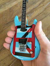 Joe Satriani Ibanez Chickenfoot Blue Ibanez Miniature Guitar-Officially Licensed